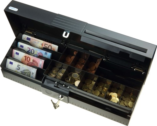 Kassalade Anker ECC Euro slot-001 donkergrijs (RAL 7021)