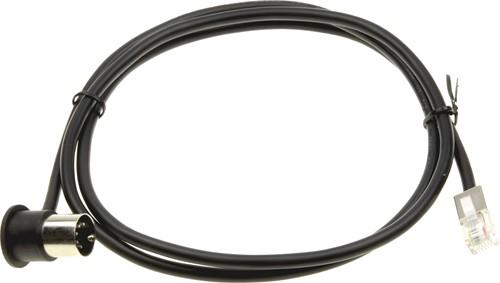 DIN-RJ12 kabel 1 mtr. voor Anker kassalade