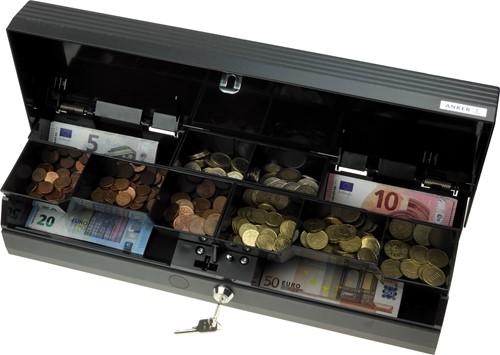 Geldcassette Anker SCC+ Standard slot-001 donkergrijs (RAL 7021)