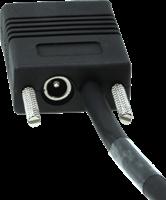 Seriële kabel recht industrieel 2,00m voor Zebra barcode scanners-2