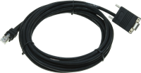 Seriële kabel recht industrieel 4,60m voor Zebra barcode scanners