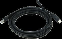USB kabel recht industrieel 4,60m voor Zebra barcode scanners