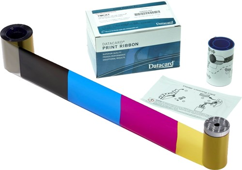 YMCKT Printer lint voor Datacard SD260-SD360-SD460 (500 afdr.)