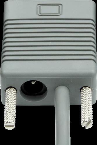 RS232 kabel recht 2,00m voor Datalogic barcode scanners-2