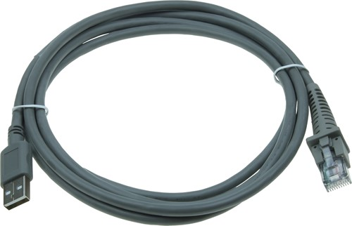 USB kabel recht 2,00m voor Datalogic barcode scanners