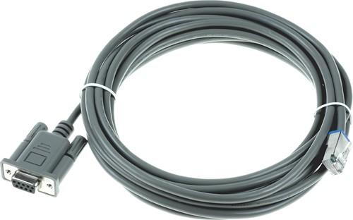 RS232 kabel recht 4,50m voor Datalogic Magellan 3450VSi-3550HSi