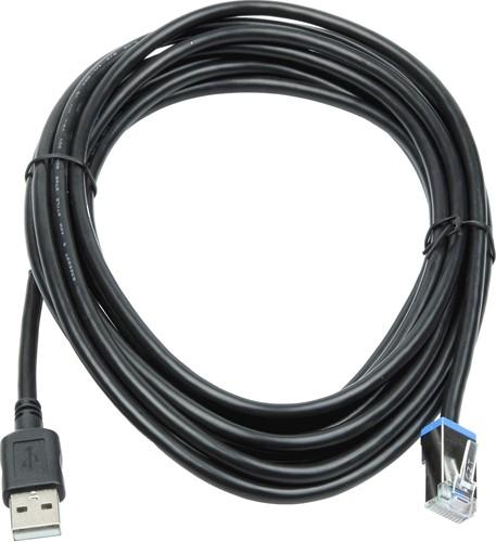 USB kabel recht 4,50m voor Datalogic Magellan 3450VSi-3550HSi