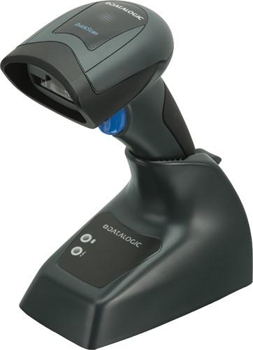 Datalogic QuickScan QBT2131 donkergrijs (scanner en basis z. kabel)