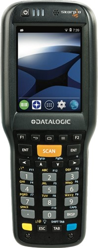 Datalogic Skorpio X4 Pistol grip 1D, 28-Key, Android 4.4