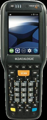 Datalogic Skorpio X4 Pistol grip 1D, 38-Key, Android 4.4