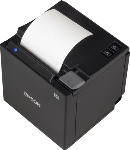 Epson TM-m30II kassabon printer zwart inclusief netadapter (USB-ETH-BT)