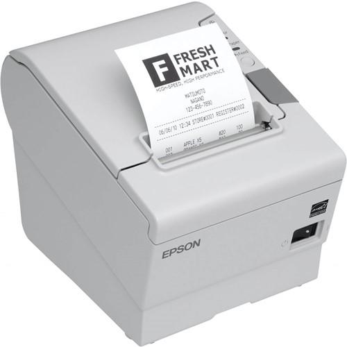 Epson TM-T88 V kassabon printer lichtgrijs incl. PS-180 (USB-WLAN)