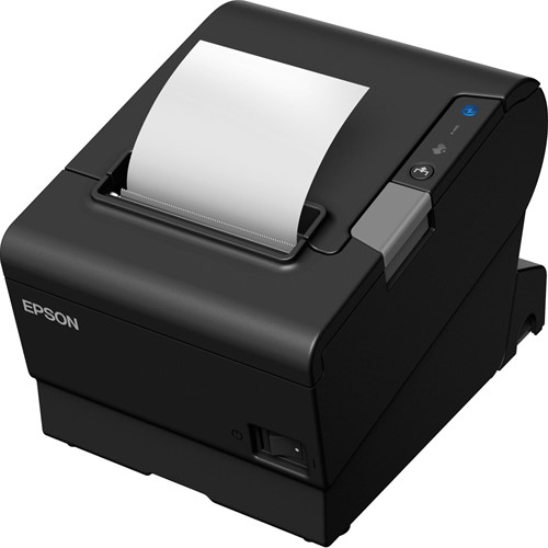 Epson TM-T88VI-iHub kassabon printer zwart incl. PS-180 (USB-SER-ETH)