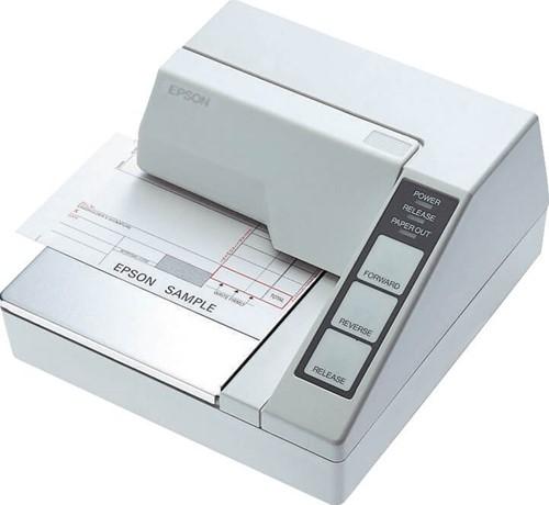 Epson TM-U295 slip printer lichtgrijs (RS-232)