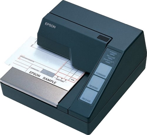 Epson TM-U295 slip printer donkergrijs (RS-232)