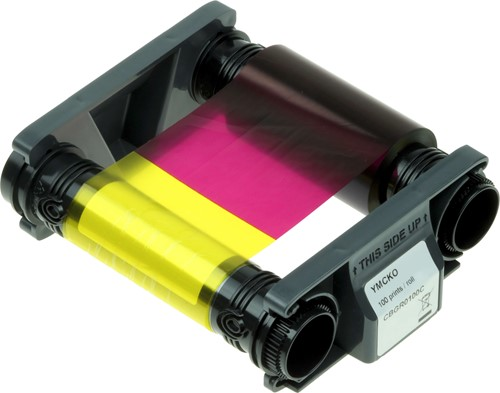 YMCKO Printer lint voor Evolis Badgy 200 (100 afdr.)