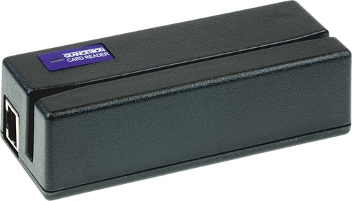Glancetron 1290 paslezer 3-track zwart (USB-COM)