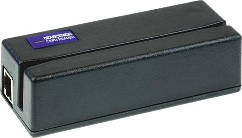 Glancetron 1290 paslezer 3-track zwart (USB-Keyboard)