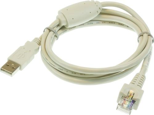 USB-COM kabel wit voor Glancetron 1290
