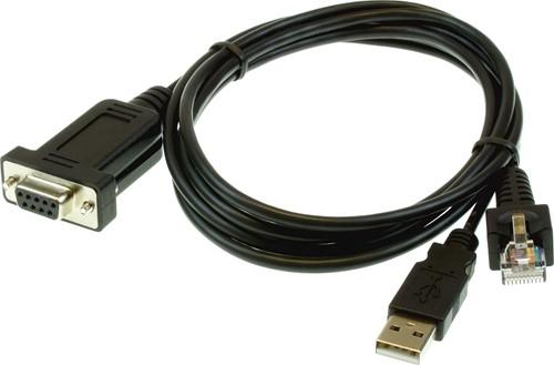 RS232 kabel zwart voor Glancetron 1290