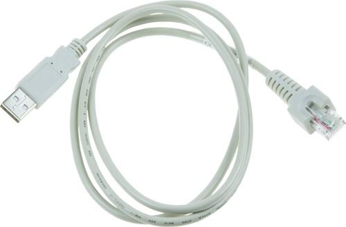 USB-KB kabel wit voor Glancetron 1290