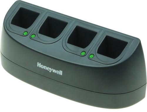 Acculader 4-voudig voor Honeywell Voyager, Xenon, Granit accu's