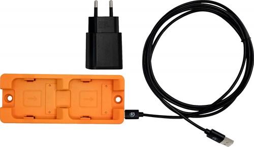 ProGlove 2-voudige oplaadstation met USB kabel en netadapter