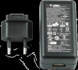 Netvoeding met USB aansluiting voor Zebra TCxx