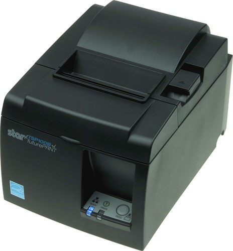 Star TSP143 III kassabon printer donkergrijs (Wireless LAN)