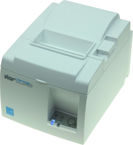 Star TSP143 III kassabon printer lichtgrijs (Bluetooth)