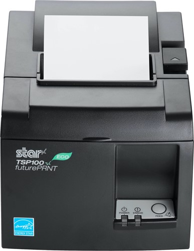 Star TSP143 II Eco kassabon printer donkergrijs (USB)
