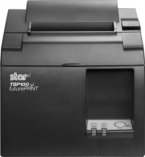 Star TSP143 II+ kassabon printer donkergrijs (USB)