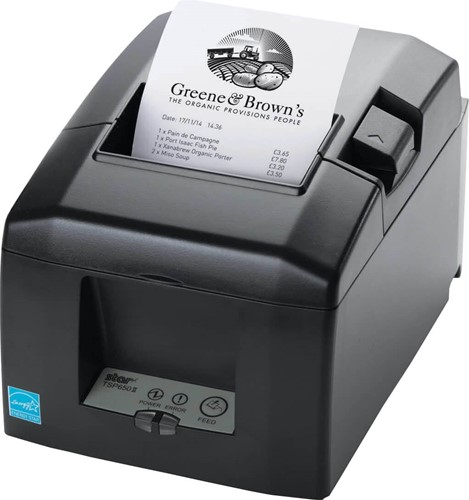 Star TSP654 II kassabon printer donkergrijs (zonder interface)