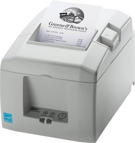 Star TSP654 II kassabon printer lichtgrijs (RS232)