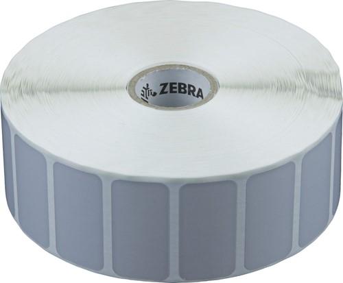 Zebra Z-Ultimate 3000T Silver Polyester etiket 38 x 19mm