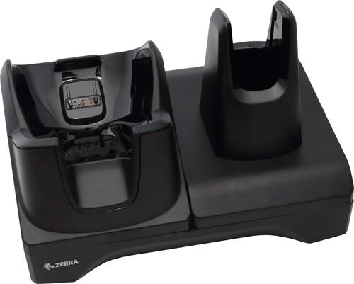 Oplaad en communicatie basisstation voor Zebra TC8000-TC8300