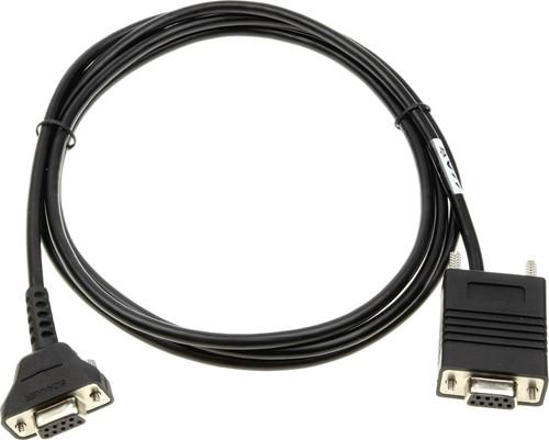 RS232 kabel recht 1,80m voor Zebra DS457