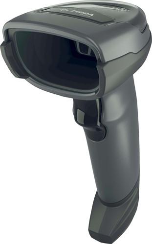 Zebra DS4608 2D barcodescanner RS232-kit zwart incl. standaard