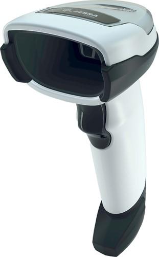 Zebra DS4608 2D barcodescanner RS232-kit lichtgrijs incl. standaard