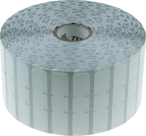 Zebra 8000D Juweliers etiket 56 x 13mm (met flapjes)