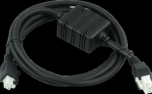 Gelijkstroom kabel voor Zebra meervoudige basistations