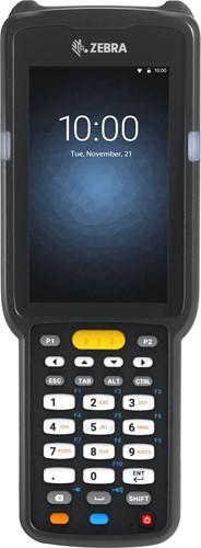 Zebra MC3300 Pistol grip, 2D LR, 29-Key, Ext.Batt., Android 8.x non-GMS