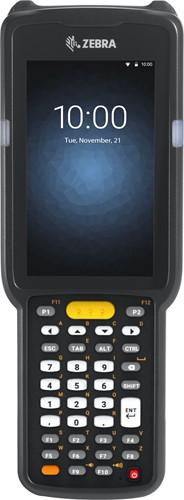 Zebra MC3300 Pistol grip, 2D LR, 38-Key, Ext.Batt., Android 8.x non-GMS