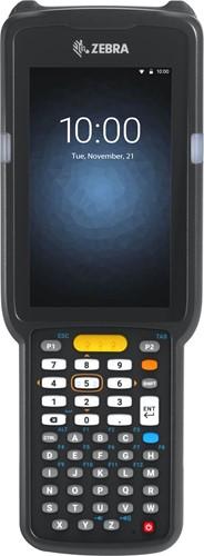 Zebra MC3300 Pistol grip, 2D LR, 47-Key, Ext.Batt., Android 8.x non-GMS