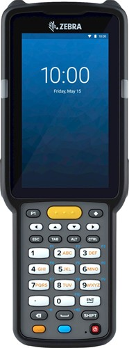 Zebra MC3300x Handheld, SE4770 1D/2D SR, 29-Key, 13MP, Android 10