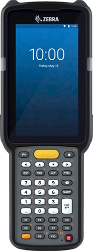 Zebra MC3300x Handheld, SE965 1D Laser SR, 38-Key, 13MP, Android 10