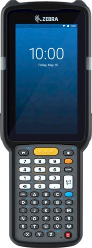 Zebra MC3300x Handheld, SE4770 1D/2D SR, 47-Key, 13MP, Android 10