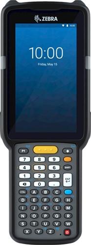 Zebra MC3300x Handheld, SE4770 45° 1D/2D SR, 47-Key, 13MP, Android 10
