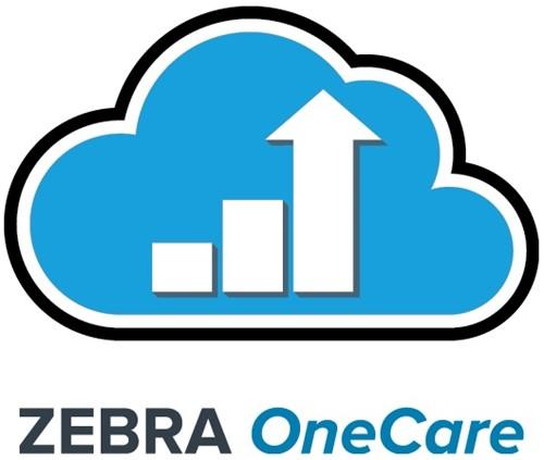 Zebra 220Xi4 OneCare Essential Service, volgende werkdag, op locatie, 3 jaar, standaard dekking, nieuwe printer