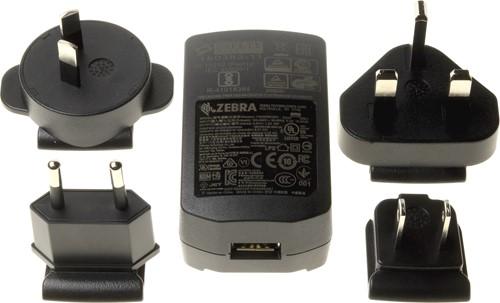 Netvoeding met USB aansluiting voor Zebra CR2278
